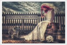"""Express The Dress Wall Art Images - By Scott Warne / Call it """"Trash the Dress"""", """"Cherish the Dress"""" or """"Rock the Frock"""" it all comes down to one thing & thats having some amazing wall art images taken in your wedding dress by Award Winning Photographer - Scott Warne"""
