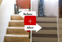 DIY: Staircase Makeover / DIY remodeled staircases / by Kip Britt