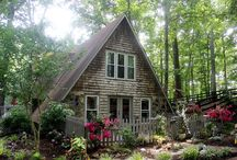 French Country A-frame Cottage