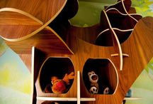 For Children!  / This exciting wood-shaped toy storage uint is specifically designed for children – made of wood of course.