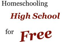 Homeschool High School / Educational ideas for high school students