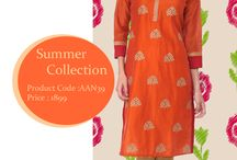 Aaneri Summer Collection / Beat The Heat!!! With our coolest collection of summer wear kurtis.