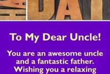 Father's Day Cards for Uncle