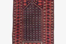 """Prayer Carpets / Also known as """"saf,"""" prayer rugs, prayer carpets and prayer kilims are all similar in that they're all used for just about the exclusive purpose of prayer, and designed exclusively for that purpose. Because prayer is almost always formed in groups with prayer rugs lined alongside one another, the symmetry formed by the motifs in the rugs is one of their most important features."""