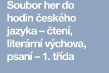 český jazyk 1.ročník