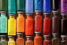 Pigmenti concentrati solubili in apa (pulbere/pasta)