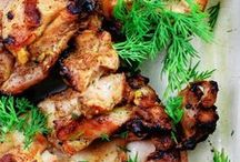 Med. grilled chicken