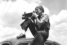 Dorothea Lange / (1895 – 1965) An influential American documentary photographer and photojournalist, best known for her Depression-era work for the Farm Security Administration (FSA). Lange's photographs humanized the consequences of the Great Depression and influenced the development of documentary photography.