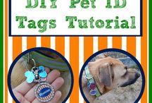 DIY Dog ID Tags