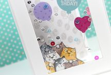 cards / any and all kind of cards - from birthday cards over holiday cards to general cards with well wishes :)