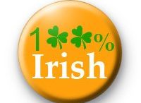 St Patricks Day Badges / A board featuring our ever popular St Patricks Day button badges