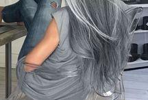 Grey hair colour