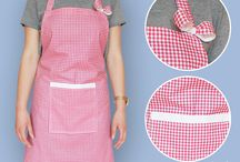 Vshebi Aprons / Here we post about aprons my mom and I did.