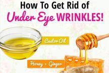 wrinkles eyes