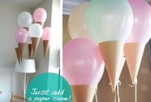 Baby Shower Ideas / A few ideas we found that we liked for the shower / by Brian Daggett