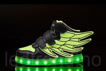 """LED-sko til barn """"Dragonfly"""""""