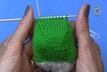 video pletenie ponožky 4.diel