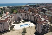 Selena Residence - Sunny Beach, Bulgaria - Sales Neil O Reilly / The project consists of 209 apartment and a number of commercial units. The development is located across the road from Bulgaria's No.1 beach club, Cacao Beach. Neil O Reilly from Platinum Investments & Developments Ltd. headed up the sales for this development. Buildings A & B are completed with building C due for completion next year. The development ran into trouble during the recent financial crises but the shareholders managed to raise new capital to complete the majority of units.