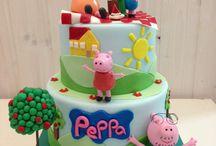 Peppa Pig Pic Nic Cake / Peppa Pig Pic Nic Cake