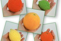 Fruit amigurumi
