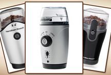 Hamilton Beach Coffee Grinders / Reviews of the best Hamilton Beach coffee grinders, as well as getting to know the company who builds them a bit better.