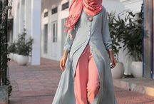Model fashion hijab style