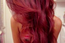 Red/Purple/Pink hair