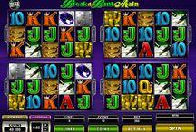 Megaspin Break da Bank Again / Voglia di Vincere offre la possibilità di giocare a 4 slot contemporaneamente, grazie a Megaspin – Break da Bank Again, e quadruplicare le probabilità di vincita. Il tema è lo stesso della slot a rulli della quale questa è il seguito: irruzione nella banca, casseforti e miriadi di monete d'oro.