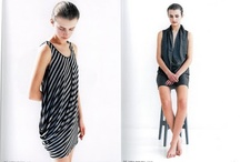 Clothes in Torsion / All, but not only, asymmetrical, curved, twisted, patterned manipulated, or over-sized pieces. Also