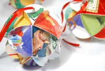 recycle Christmas cards / by Sandy Ruby