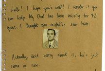 mysterious letters / lenka clayton& michael crowe http://bayilirimboyleseylere.com/2014/11/22/gizemli-mektuplar/