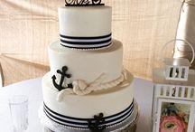 Nautical Wedding Cake Inspiration