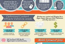 SEO / Links and infographics related to Search Engine Optimization.