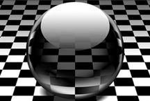 Monochrome pattern GIF