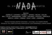 """Exposición: """"Nada"""" / Expo """"Nada"""": 22/01 al 31/01/15, en Arteme - Av.Libertador 405 esq. Suipacha -Galpones 1 al 5."""