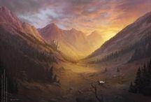 My Fantasy Art / My fantasy paintings