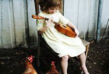 Beautiful ... children with animals