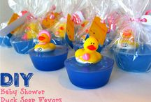 Rubber duck soap