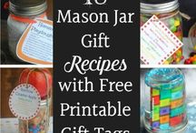 Mason Jar Gifts and Lighting