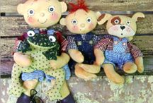 Dolls and Plushies / by Melody Mulvaney-Kealy