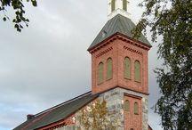 Suomen kirkot ja vanhat rakennukset / Suomen kirkot ja vanhat rakennukset sekä kultuuri nähtävyydet esim.museot ja muuten hienot rakennelmat.
