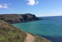 Hiking Odyssey: Cornwall, England / Hiking the Coast Path Trail in Cornwall, England