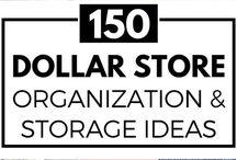 Organizzare piccoli spazi / Idee per organizzare piccoli spazi, ripiani, oggetti, ecc...