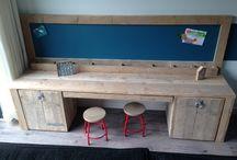 Speeltafels / Speeltafels met handige opbergruimte