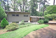 SOLD - REFURBISHED MID-CENTURY MODERN / $320,000 Meticulously renovated/kept architect/artist-owned mid-century modern gem within 2 minutes of 85/285. Featured in Atomic Ranch/AJC. QUIET and very safe street. Modern European fixtures/finishes/furniture throughout. New exterior paint. Bamboo floors. 600 sqft deck. Huge walk-in closet. Walk-in shower. Heated bathroom floor. Automatic lighting. Organic garden/yard. Lots of storage. Professional low-maintenance landscape w/lighting.