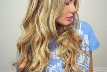 Hair color and make up ideas
