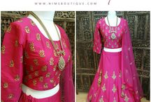 New Lehngas at Nims Boutique