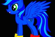 My little pony with me and my friends and relatives! / I have so many friends!
