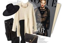 Polyvore Outfits / Fashion outfit inspirations styled with designer accessories from Shopunder.