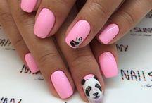 Panda Nail Designs | Panda Nail Art | Panda Style